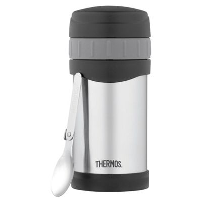 Thermos Thermax 0.47L Insulated Stainless Steel Food Jar and Spoon