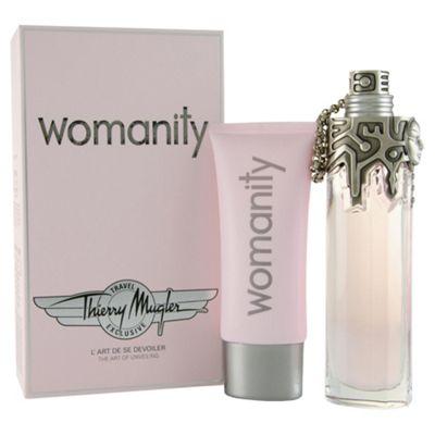 Thierry Mugler Womanity 80ml EDP Gift Set