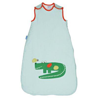 Grobag Baby Sleeping Bag, Crocodile Rock 1 Tog 0-6 Months
