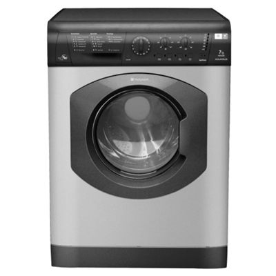 Hotpoint WDL520G Washer Dryer, 7kg Wash Load, 1200 RPM Spin, B Energy Rating. Graphite