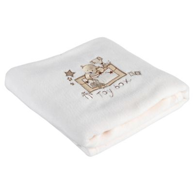 Clair de lune Toy Box Fleece, Cream