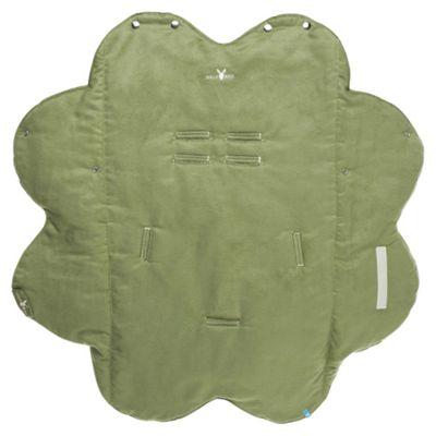 Wallaboo Pushchair Wrapper Leaf, Lime