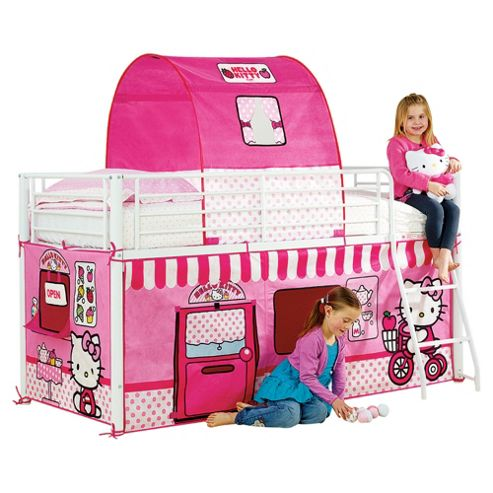 Hello Kitty Mid Sleeper Bed Tent Pack
