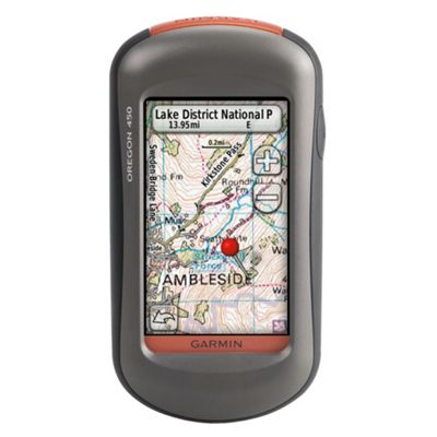 Outdoor Garmin Oregon 450 GPS Unit - Worldwide Maps
