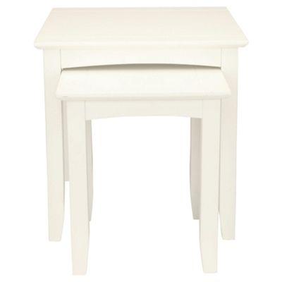 Stockholm Nest Of 2 Tables, White