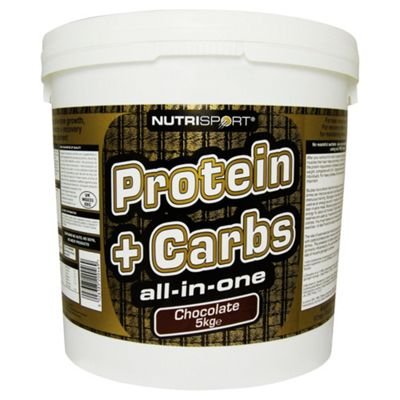 Nutrisport Protein + Complex Carbs 5kg Strawberry