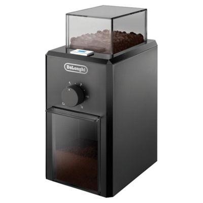 DeLonghi KG79 12 Cup Coffee Grinder - Black