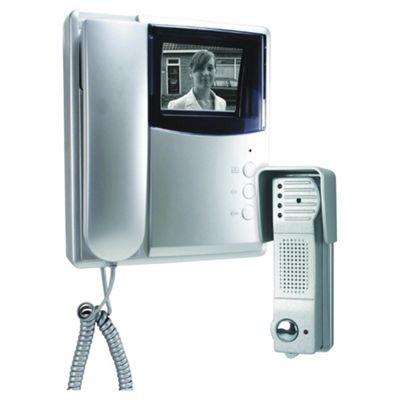 Byron Elro VD53A Video Door Intercom Black/White