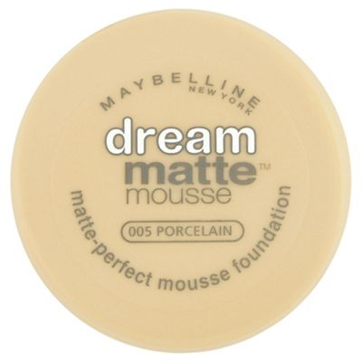 Maybelline Dream Matte Mousse Foundation 005 Porcelain