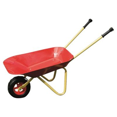 Tesco Kids Metal Wheelbarrow