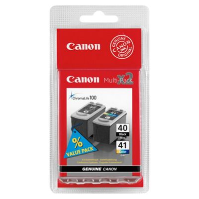 Canon PG-40, CL-41 Ink Cartridge Multipack