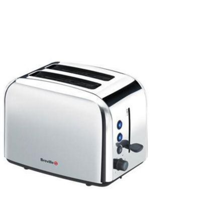 Breville VTT163 2 Slice Stainless Steel Toaster - Stainless Steel