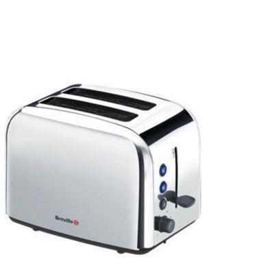 Breville VTT163 2 Slice Stainless Steel Toaster - Stainless Steel