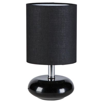 Tesco Lighting Ceramic Table Lamp Black, Set Of 2