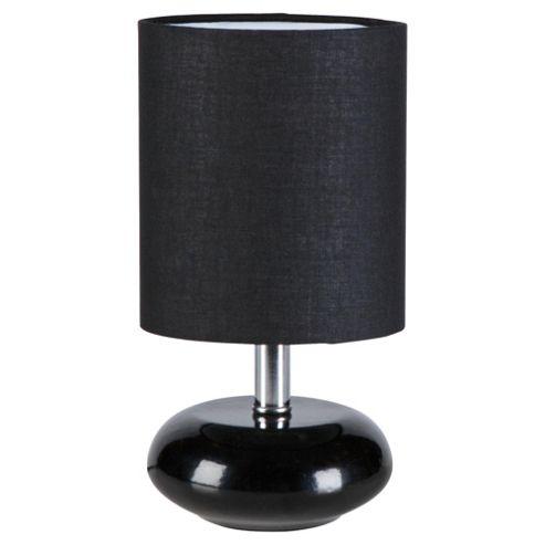 Tesco Lighting Ceramic Table Lamp Black, Set Of 2
