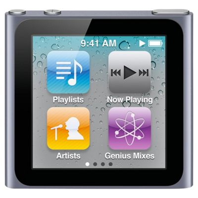 Apple MC526QB/A iPod Nano 16GB 6th Generation - Graphite