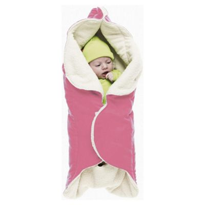 Wallaboo Fleece Wrapper, Pink