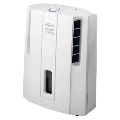 De'Longhi DES12 12 Litre Compact Dehumidifier White