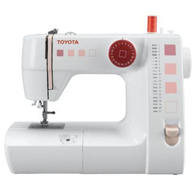 Toyota FSR21 Electronic Sewing Machine - White