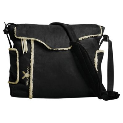 Wallaboo Changing Bag, Black