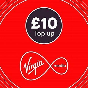 Virgin £10 mobile Top Up