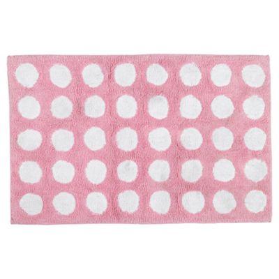 buy tesco kids polka dot rug from our rugs range - tesco