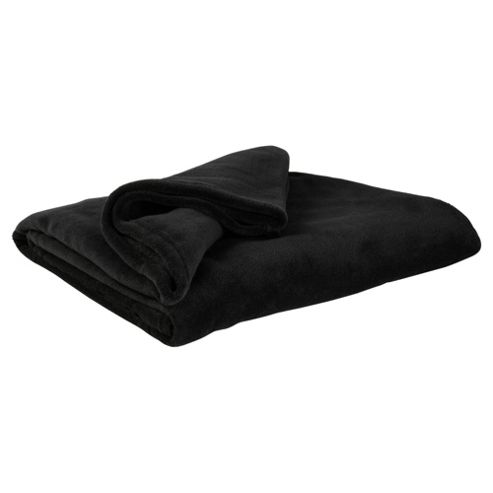 F&F Home Supersoft Throw, Black