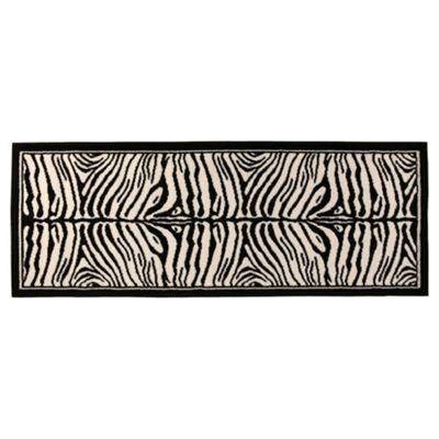 Tesco Zebra Runner 67X180Cm Black