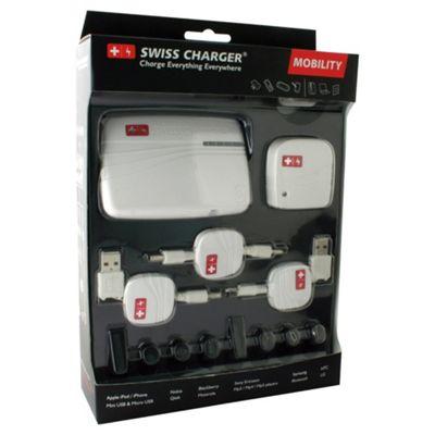 Swiss Hitech white universal battery charger