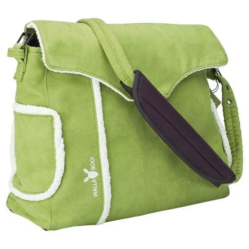 Wallaboo Changing Bag, Lime