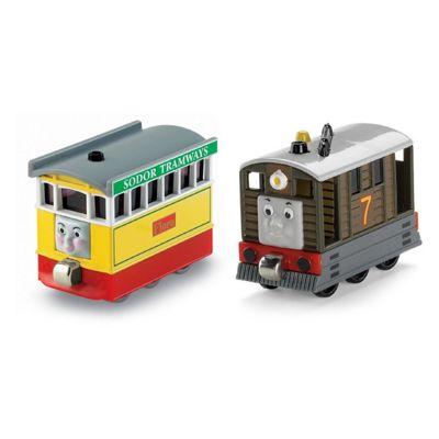 Thomas & Friends Take-n-Play Toby & Flora Train Engine