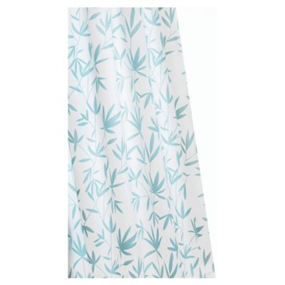 Croydex Anti-Bac Textile Shower Curtain Bamboo
