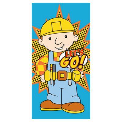 Bob The Builder Towel 140 * 70 Cm