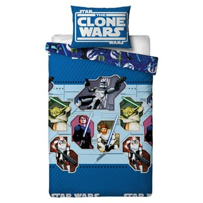 Clone Wars Duvet Set NEW