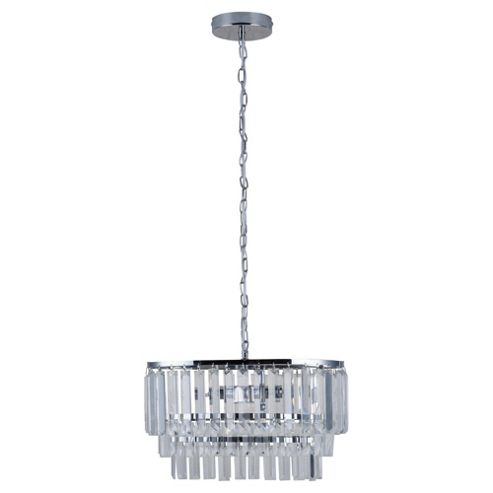 Tesco Lighting Coco Glass Ceiling Fitting