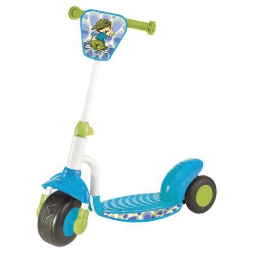 Smart-Trike 3-Wheel Scooter, Blue