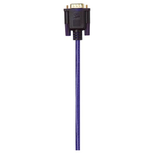 QED VGA Monitor Cable connects monitor or LCD television to PC 1.5M