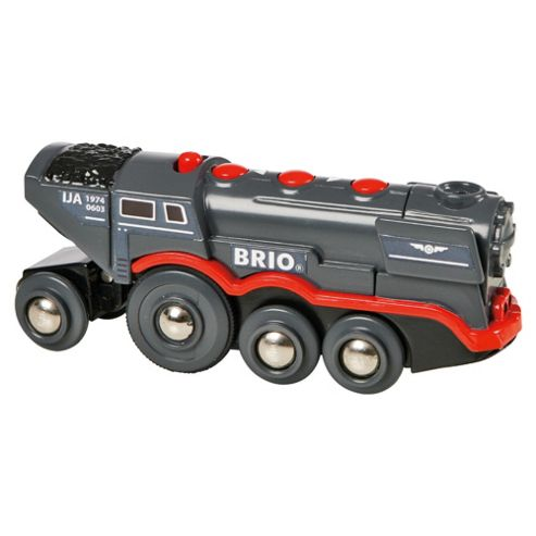 Brio Classic Accessory Great Grey Steam Engine, wooden toy