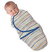 Summer Infant Swaddleme Wavy Stripe, Blue