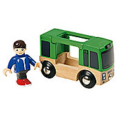 Brio Classic Bus & Figure, wooden toy