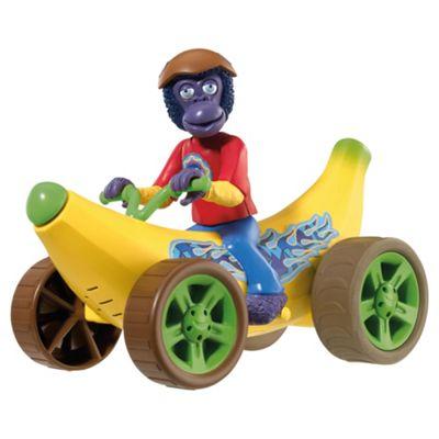 Zing Zillas Zaks Banana Car