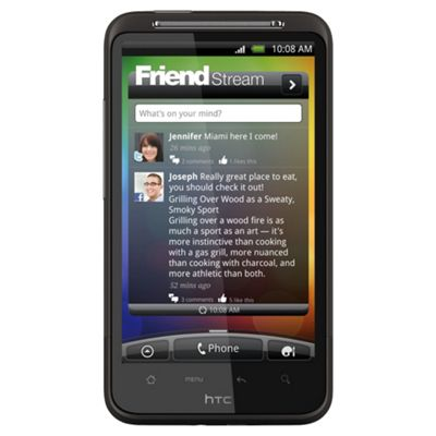 Tesco Mobile HTC Desire HD Black
