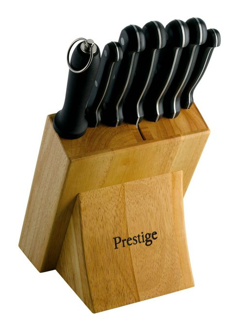 Prestige Eight Piece Knife Block Set