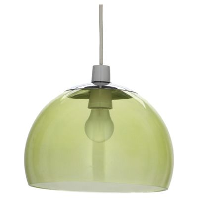 Tesco Lighting Bobble Pendant Lime