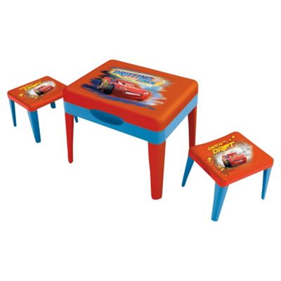 Disney Cars Sand & Water Table with Two Stools