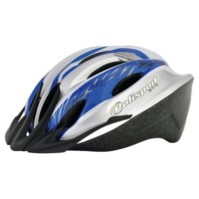 Polisport Myth Helmet 57-61cm Blue & Silver