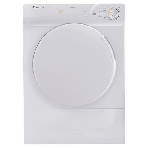 Candy GOV580C Vented Tumble Dryer, 8 kg Load, C Energy Rating. White