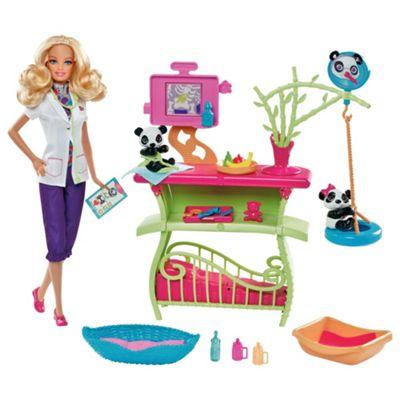 Barbie I Can Be Panda Caretaker Playset & Doll
