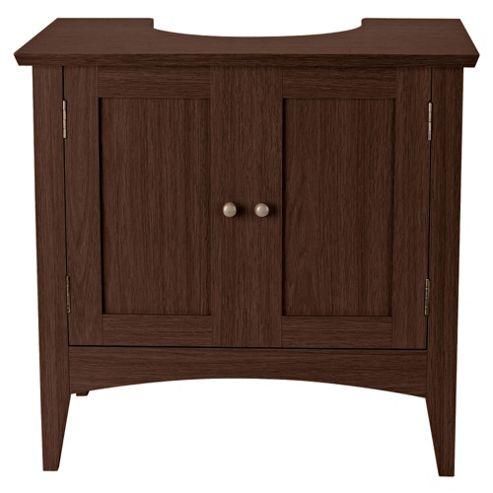 Portico Dark Wood Under Sink Cabinet