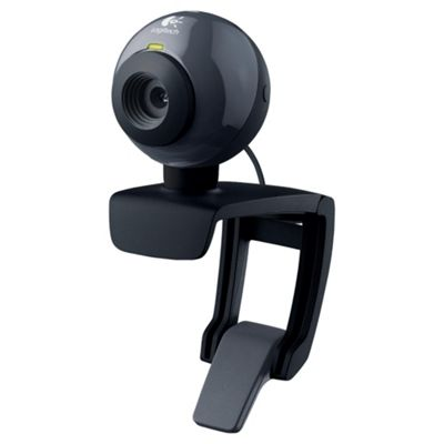 Logitech C160 1.3MP VGA Webcam with Microphone
